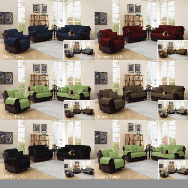 Surprising 3 Piece Sofa Cover Protector Set Bralicious Painted Fabric Chair Ideas Braliciousco